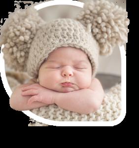 Enfermera del bebé - Colocación de pendientes